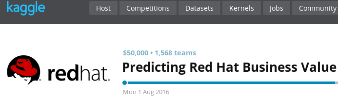 PySpark for RedHat Kaggle competition